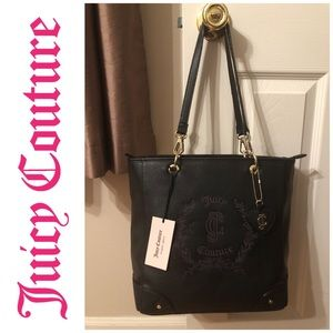 """🆕 Juicy Couture """"Floral Crest"""" Handbag With Strap"""